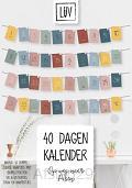 40 dagen Kalender - Op weg naar Pasen