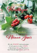 Wenskaart Gez. Kerstdagen + Veel Sterkte