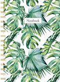 Leaves spiraalboek klein (ruiten) / Leav