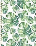 Leaves spiraalboek groot (ruiten) / Leav